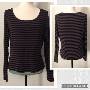 Chico's Long Sleeve Private Selection Top